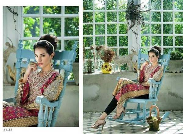 Rabea By Shariq Textile Latest Women Kurtis Tunics Designs Collection 2015-2016 (25)