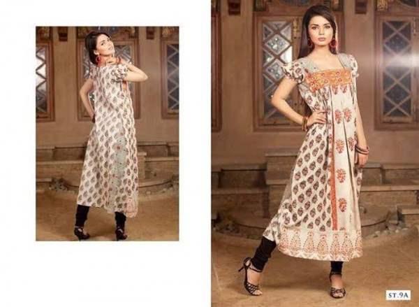 Rabea By Shariq Textile Latest Women Kurtis Tunics Designs Collection 2015-2016 (27)