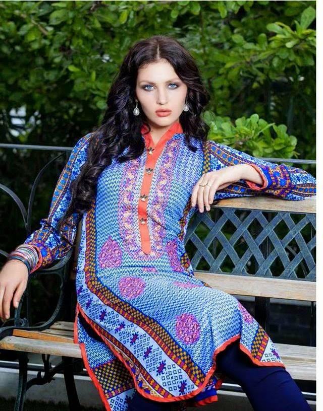Rabea By Shariq Textile Latest Women Kurtis Tunics Designs Collection 2015-2016 (29)
