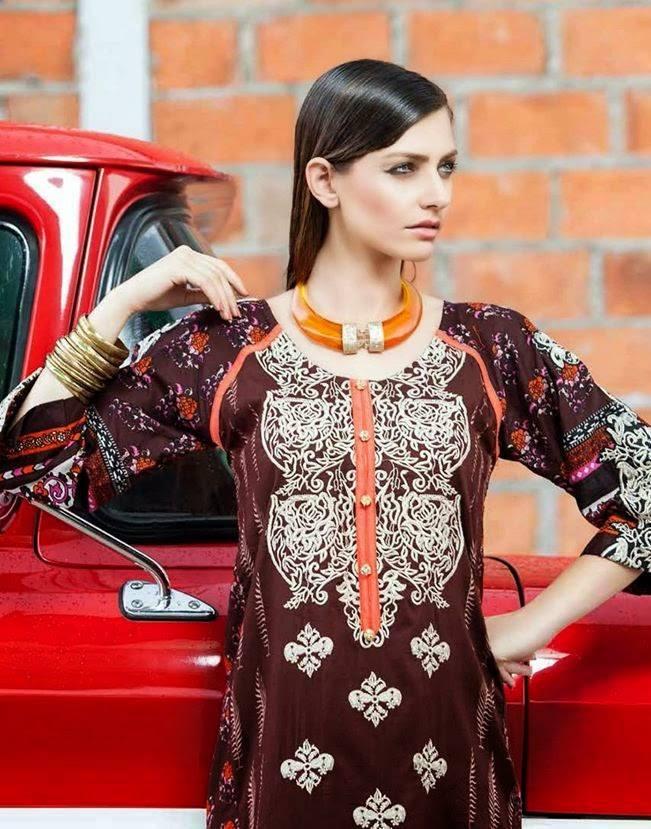 Rabea By Shariq Textile Latest Women Kurtis Tunics Designs Collection 2015-2016 (30)
