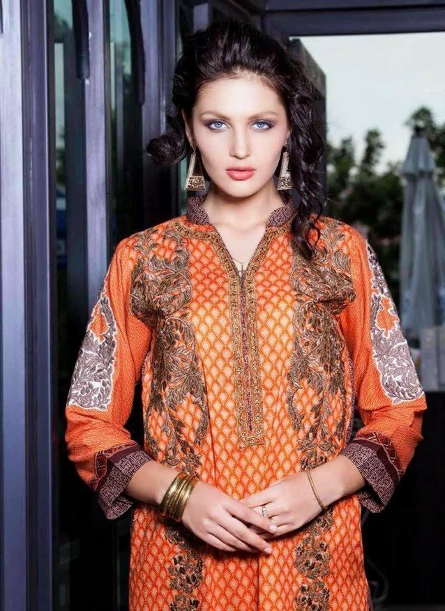Rabea By Shariq Textile Latest Women Kurtis Tunics Designs Collection 2015-2016 (4)