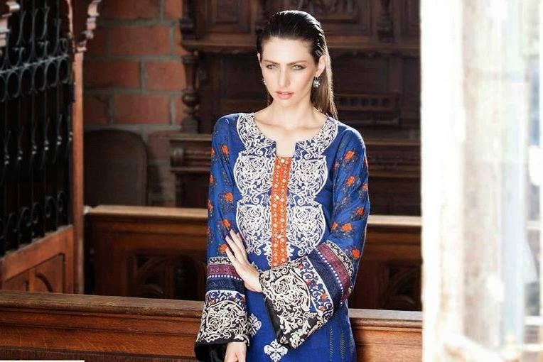 Rabea By Shariq Textile Latest Women Kurtis Tunics Designs Collection 2015-2016 (5)