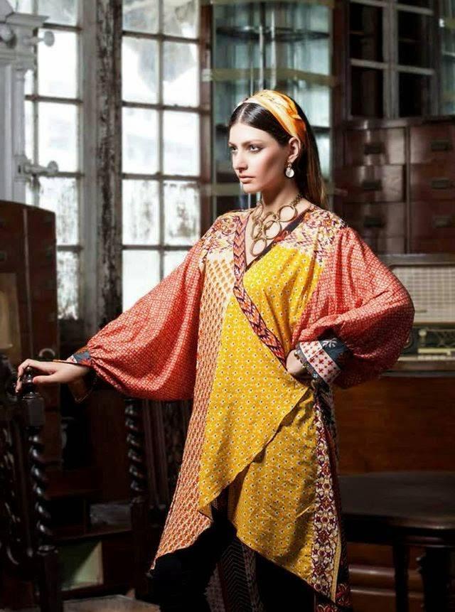 Rabea By Shariq Textile Latest Women Kurtis Tunics Designs Collection 2015-2016 (6)