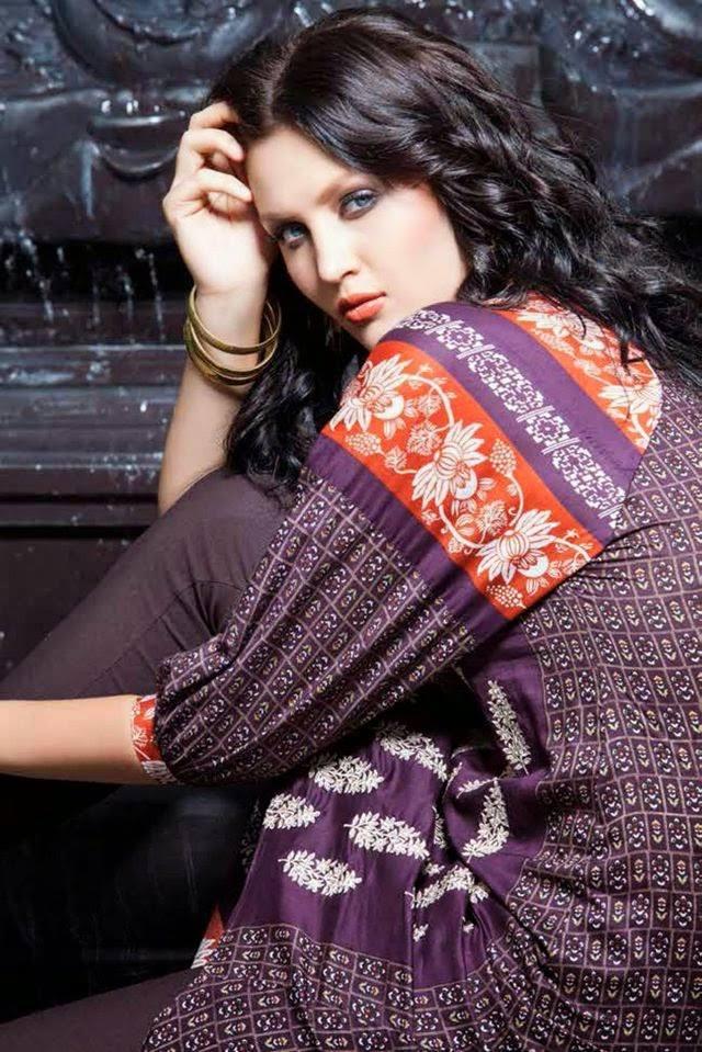 Rabea By Shariq Textile Latest Women Kurtis Tunics Designs Collection 2015-2016 (8)