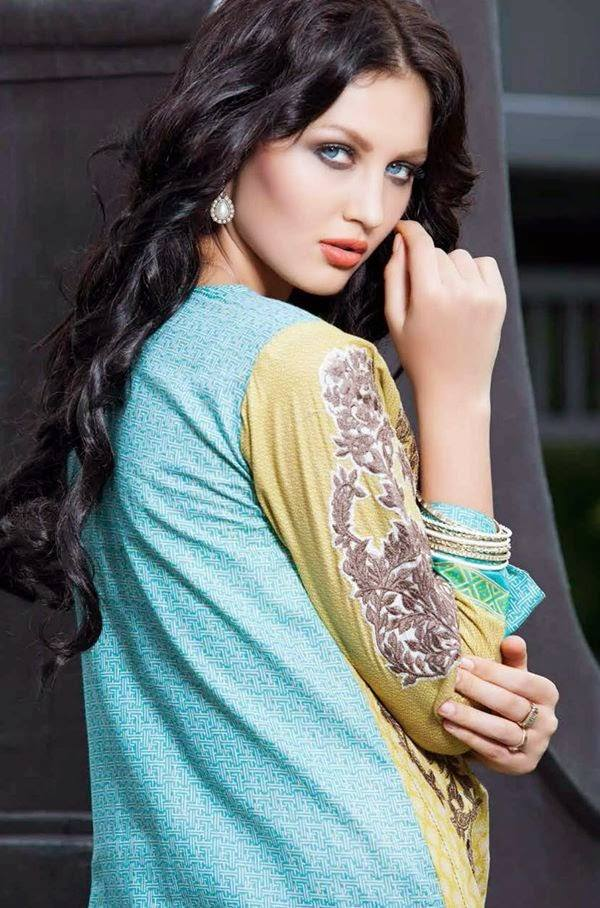 Rabea By Shariq Textile Latest Women Kurtis Tunics Designs Collection 2015-2016 (9)