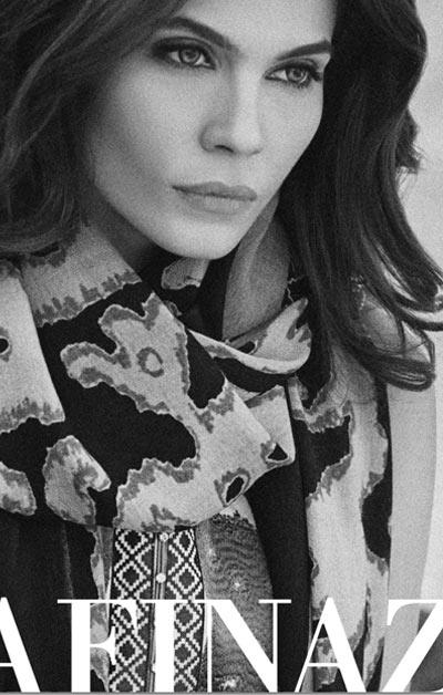 Sana Safinaz Latest Designer Winter Shawl Dresses Collection 2014-2015 for Women (11)
