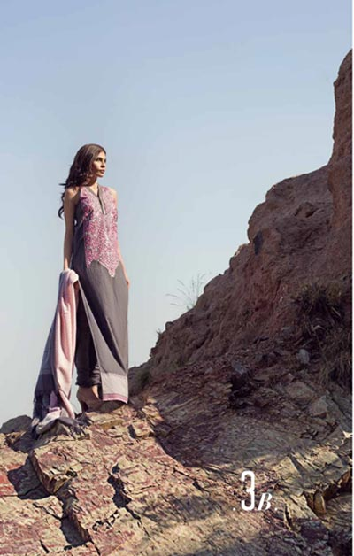 Sana Safinaz Latest Designer Winter Shawl Dresses Collection 2014-2015 for Women (12)