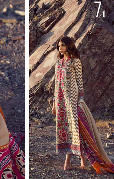 Sana Safinaz Latest Designer Winter Shawl Dresses Collection 2014-2015 for Women (18)