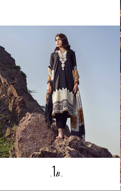 Sana Safinaz Latest Designer Winter Shawl Dresses Collection 2014-2015 for Women (19)