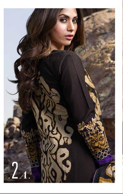 Sana Safinaz Latest Designer Winter Shawl Dresses Collection 2014-2015 for Women (2)