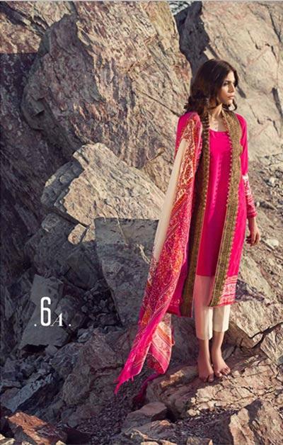 Sana Safinaz Latest Designer Winter Shawl Dresses Collection 2014-2015 for Women (23)