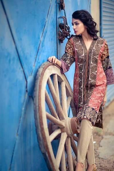 Sana Safinaz Latest Designer Winter Shawl Dresses Collection 2014-2015 for Women (28)