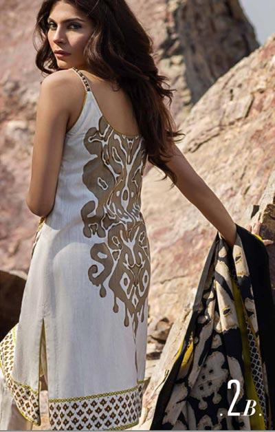 Sana Safinaz Latest Designer Winter Shawl Dresses Collection 2014-2015 for Women (3)