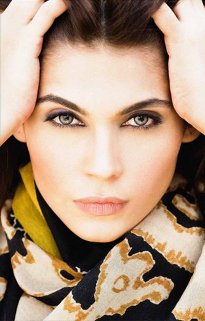 Sana Safinaz Latest Designer Winter Shawl Dresses Collection 2014-2015 for Women (31)