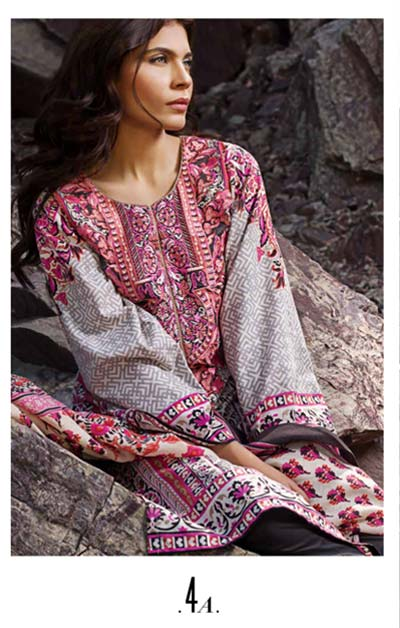 Sana Safinaz Latest Designer Winter Shawl Dresses Collection 2014-2015 for Women (4)