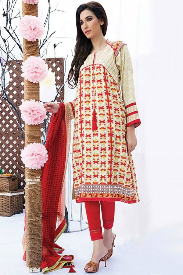 Satrangi By Bonanza Latest Cambric Collection Ready To wear Dresses for Ladies 2014-2015 (20)