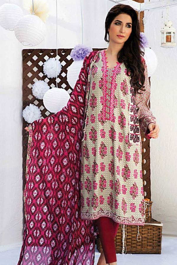 Satrangi By Bonanza Latest Cambric Collection Ready To wear Dresses for Ladies 2014-2015 (22)