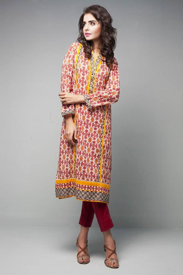 Satrangi By Bonanza Latest Cambric Collection Ready To wear Dresses for Ladies 2014-2015 (30)