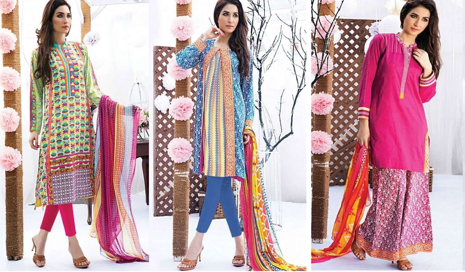 Satrangi By Bonanza Latest Cambric Collection Ready To wear Dresses for Ladies 2014-2015 (32)