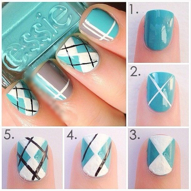Simple & Easy Step by Step Nail Arts Tutorial with Pictures for Beginners (1)
