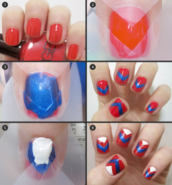 Simple & Easy Step by Step Nail Arts Tutorial with Pictures for Beginners (10)