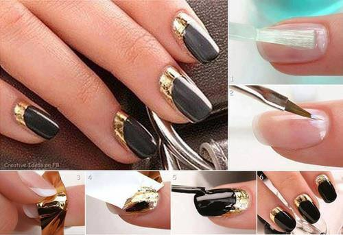 Simple Easy Step By Nail Arts Tutorial With Pictures For
