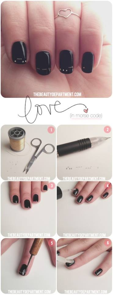 Simple & Easy Step by Step Nail Arts Tutorial with Pictures for Beginners (16)