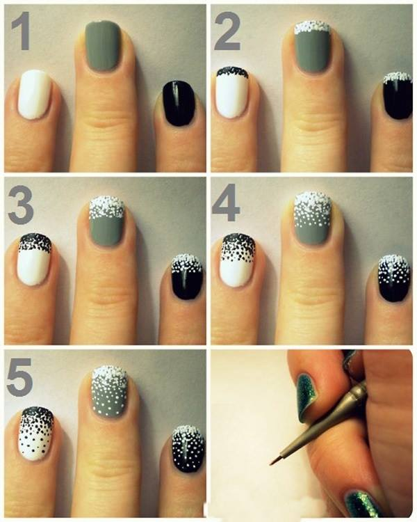Simple & Easy Step by Step Nail Arts Tutorial with Pictures for Beginners (18)
