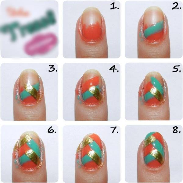 Simple & Easy Step by Step Nail Arts Tutorial with Pictures for Beginners (22)