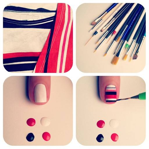 Simple & Easy Step by Step Nail Arts Tutorial with Pictures for Beginners (25)
