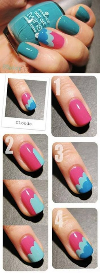Simple & Easy Step by Step Nail Arts Tutorial with Pictures for Beginners (26)