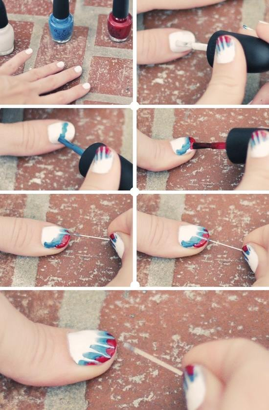 Simple & Easy Step by Step Nail Arts Tutorial with Pictures for Beginners (4)