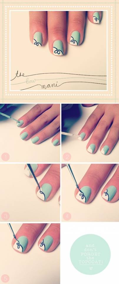 Simple & Easy Step by Step Nail Arts Tutorial with Pictures for Beginners (9)