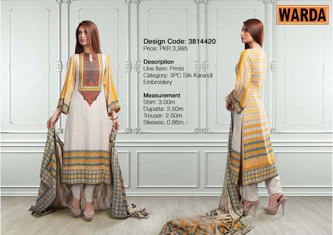 WARDA Designer Ready To Wear Dresses Winter Grace Collection 2014-15 for Women (1)