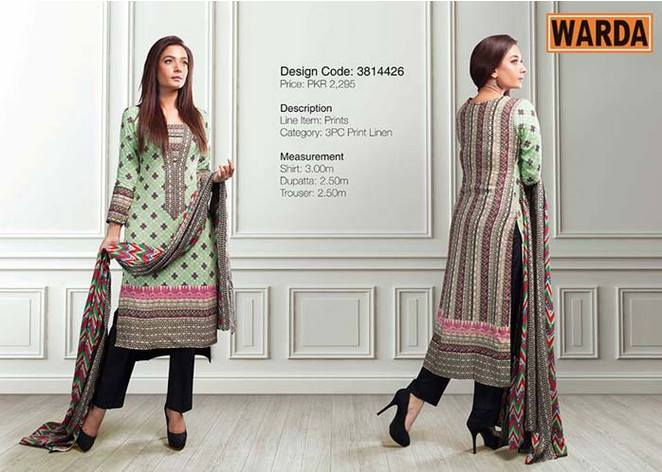 WARDA Designer Ready To Wear Dresses Winter Grace Collection 2014-15 for Women (11)