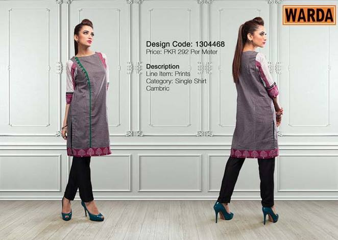 WARDA Designer Ready To Wear Dresses Winter Grace Collection 2014-15 for Women (12)