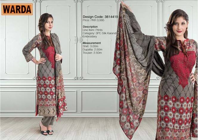 WARDA Designer Ready To Wear Dresses Winter Grace Collection 2014-15 for Women (13)