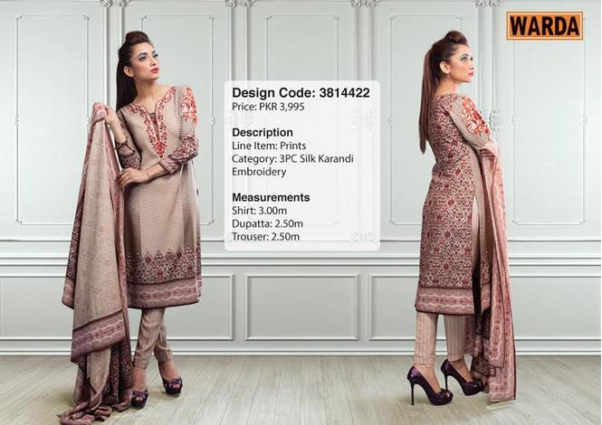 WARDA Designer Ready To Wear Dresses Winter Grace Collection 2014-15 for Women (14)