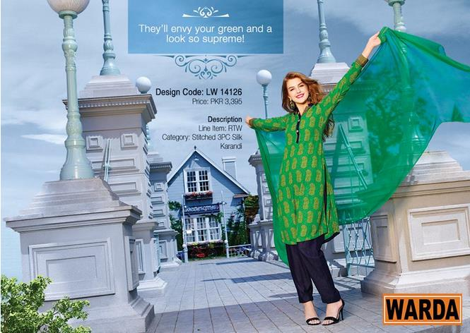 WARDA Designer Ready To Wear Dresses Winter Grace Collection 2014-15 for Women (18)