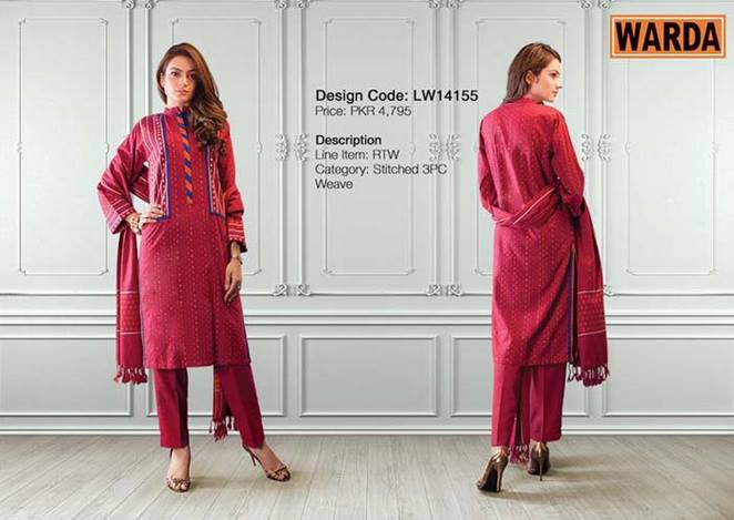 WARDA Designer Ready To Wear Dresses Winter Grace Collection 2014-15 for Women (19)