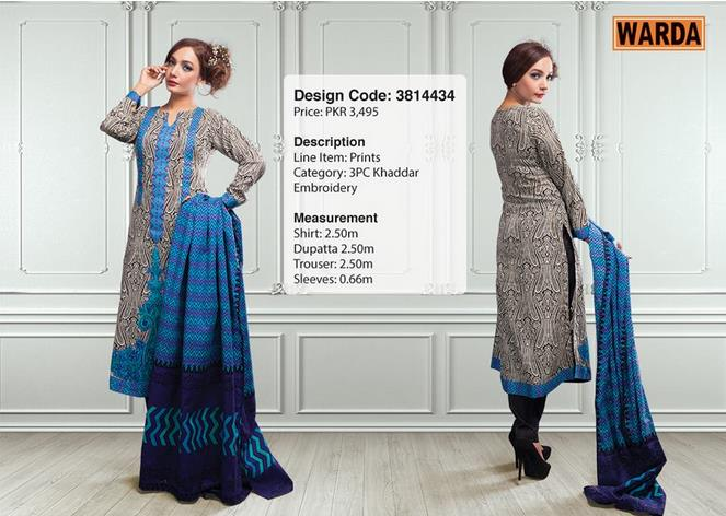 WARDA Designer Ready To Wear Dresses Winter Grace Collection 2014-15 for Women (2)