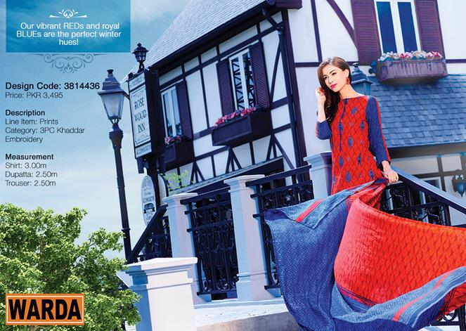 WARDA Designer Ready To Wear Dresses Winter Grace Collection 2014-15 for Women (20)