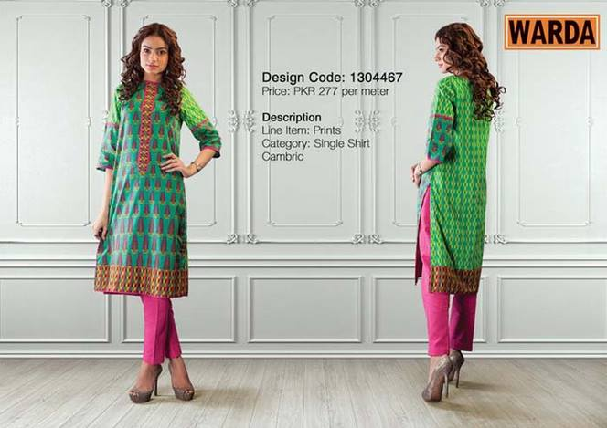 WARDA Designer Ready To Wear Dresses Winter Grace Collection 2014-15 for Women (22)