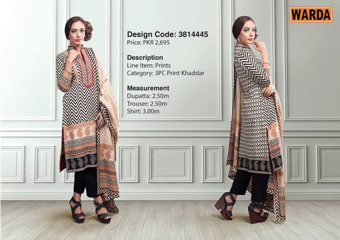 WARDA Designer Ready To Wear Dresses Winter Grace Collection 2014-15 for Women (23)
