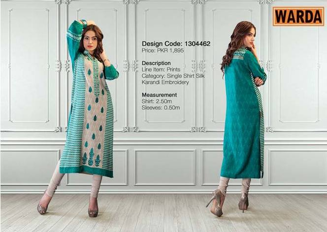 WARDA Designer Ready To Wear Dresses Winter Grace Collection 2014-15 for Women (25)