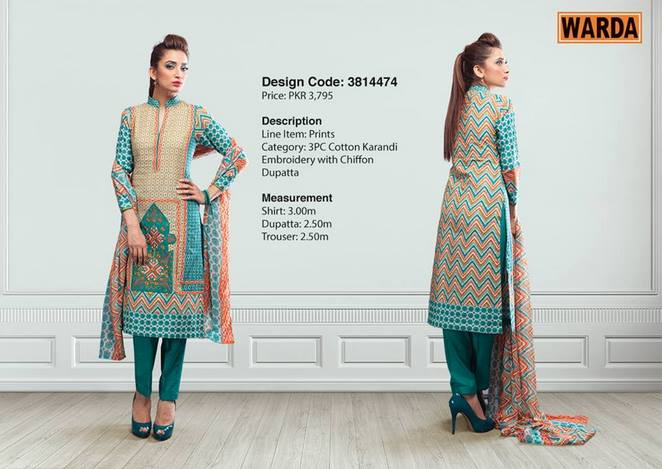 WARDA Designer Ready To Wear Dresses Winter Grace Collection 2014-15 for Women (3)