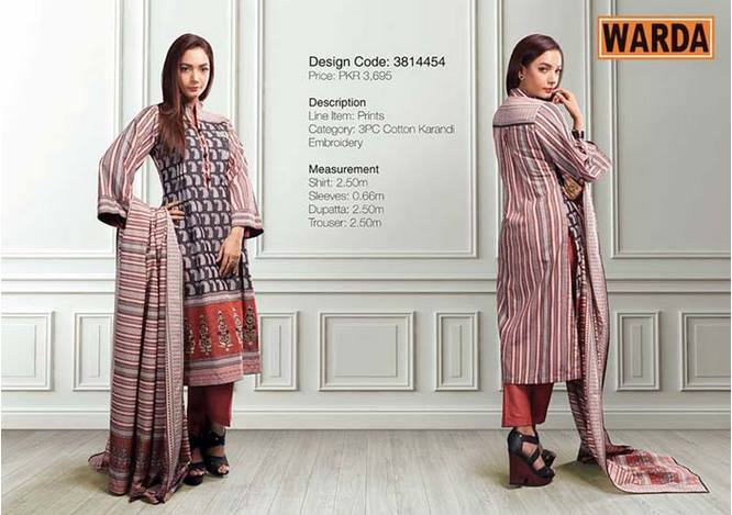 WARDA Designer Ready To Wear Dresses Winter Grace Collection 2014-15 for Women (5)