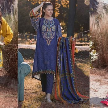 WARDA Latest Women Designer Winter Dresses Collection 2018-2019