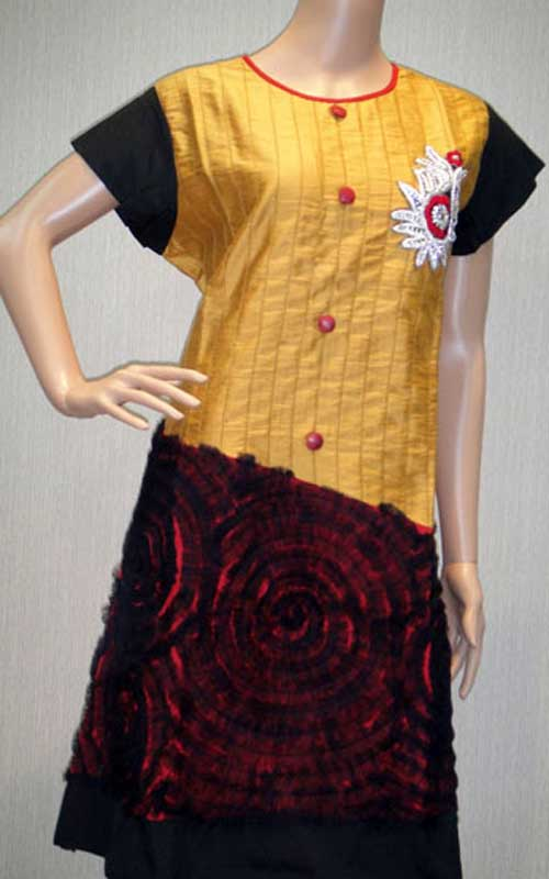 Beautiful Kurtis Tunics Neck-Gala Designs for Women (12)