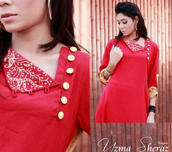 Beautiful Kurtis Tunics Neck-Gala Designs for Women (13)